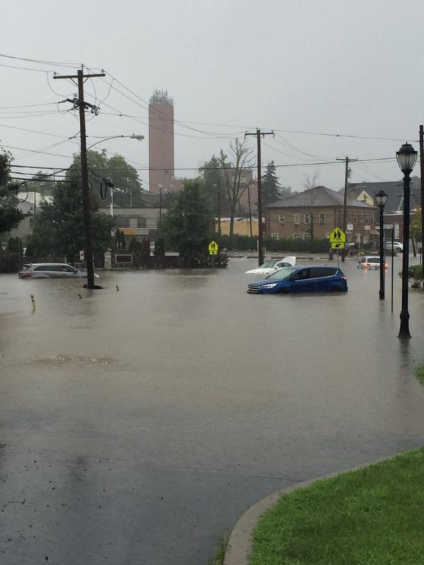 Radnor Middle School, South Wayne Ave. Photo: @NBCPhiladelphia