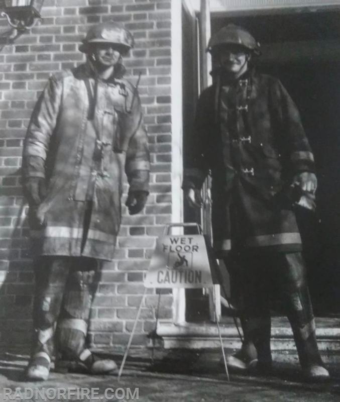 Sam DiUbaldo and Joe Cunningham in the 1970's  (Photo, RFC Archives)